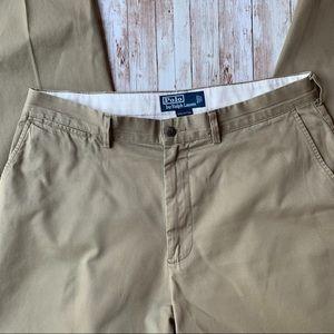 POLO RALPH LAUREN Khaki Pants / Flat Front